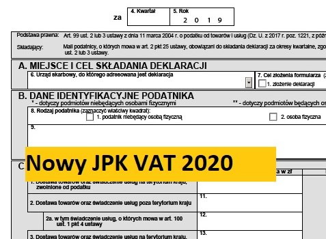 JPK_VAT - important changes!!!